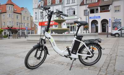 W Biskupcu można bezpłatnie wypożyczyć rower elektryczny