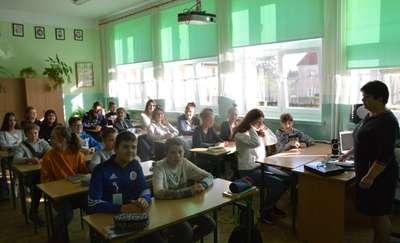 Kolejna wizyta uczniów z Achim w górowskiej szkole