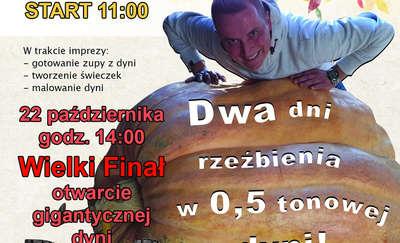 Mistrz Świata w Carvingu wyrzeźbi półtonową dynię