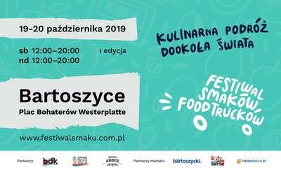 I Festiwal Smaków Food Trucków w Bartoszycach