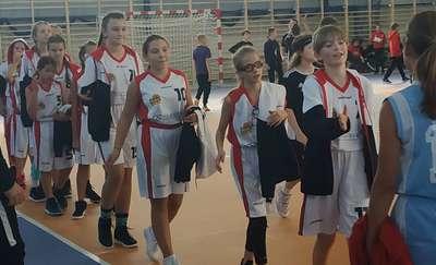 Nenufarki z SP 5 Ełk na Basket Cup w Białymstoku