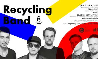 Recykling Band w Zajezdni Trolejbusowej
