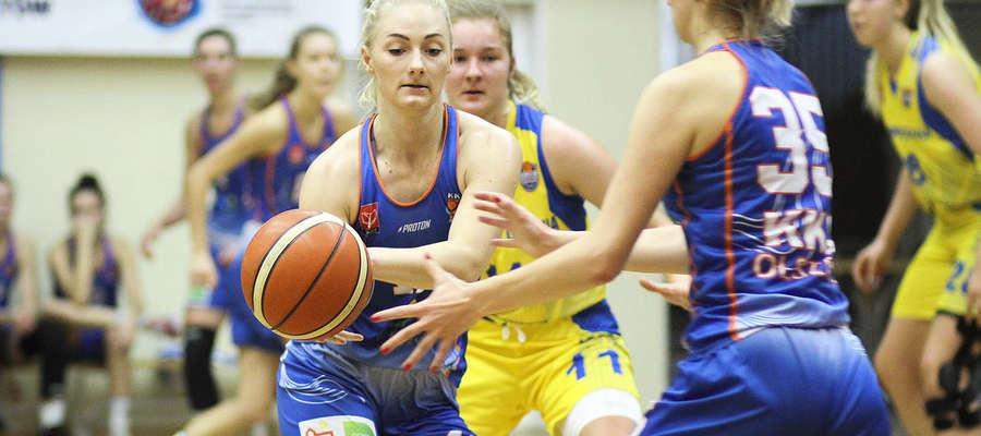 Najwięcej punktów dla ekipy z Olsztyna rzuciła Ksenia Woźniak