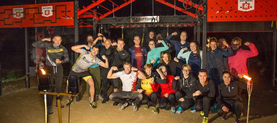 Najdłużej trwały zmagania na zestawie Raptoring XL, w których, oprócz członków sekcji Crossfit Team Susz udział wzięła także ok. 10-osobowa grupa gości z Iławy