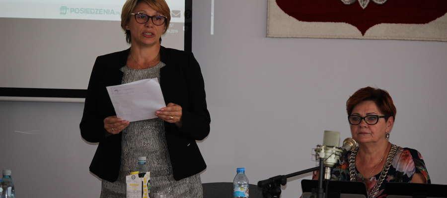 Burmistrz Aneta Goliat 13 września wystąpiła o wniesienie do porządku uwag uchwały, którą dziś wojewoda uchylił