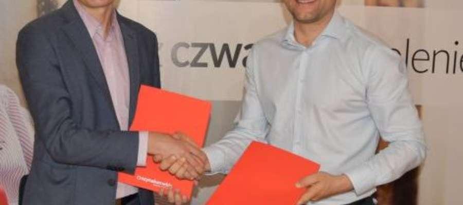 Tomasz Jankowski i Michał Szynaka