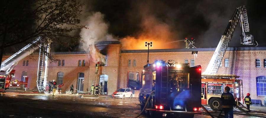 Pożar Bank Żywności