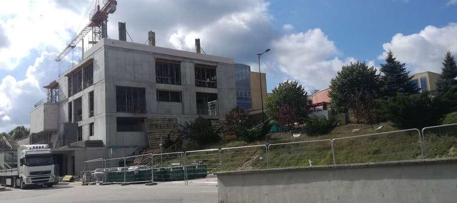 Trwa budowa Centrum Popularyzacji Nauki i Innowacji UWM w Olsztynie