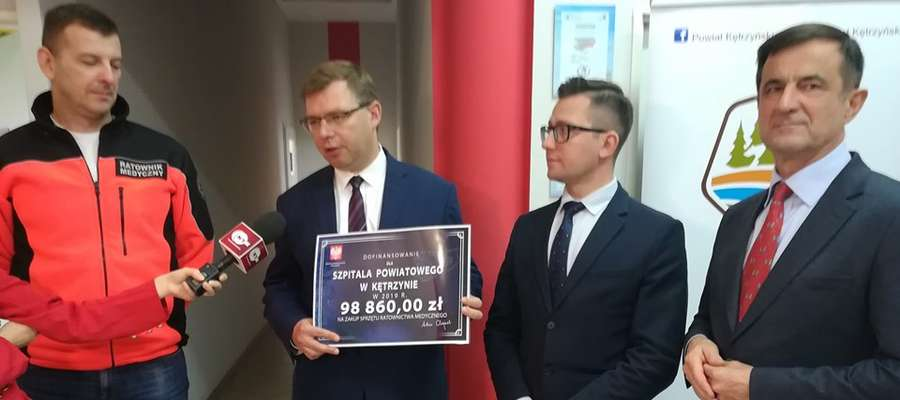 Prawie 100 tys. złotych trafi na wsparcie ratownictwa medycznego