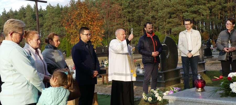 Poświęcenie pomnika pamięci mieszkańców Bratiana i Kaczka