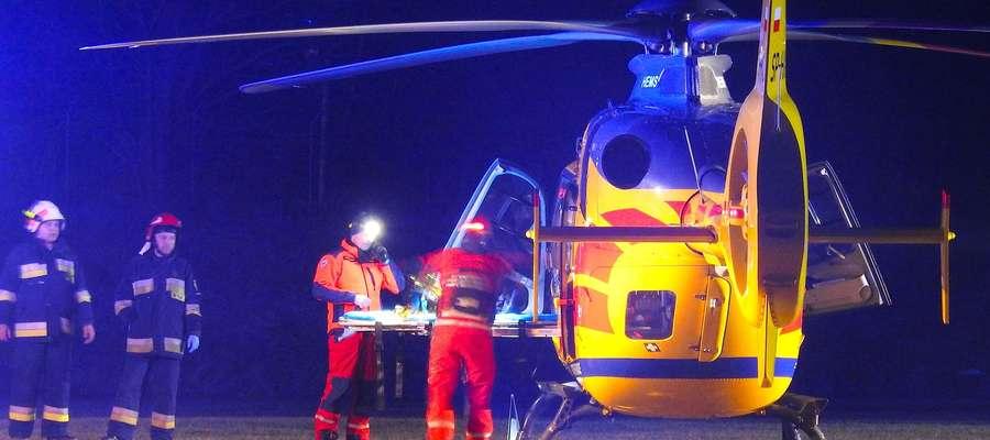 Śmiertelny wypadek w Łąkorzu