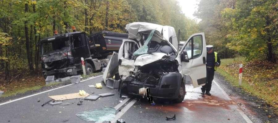 Groźny wypadek w Wejdykach 10 października
