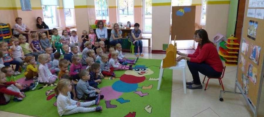 Pani Aneta gościła u przedszkolaków