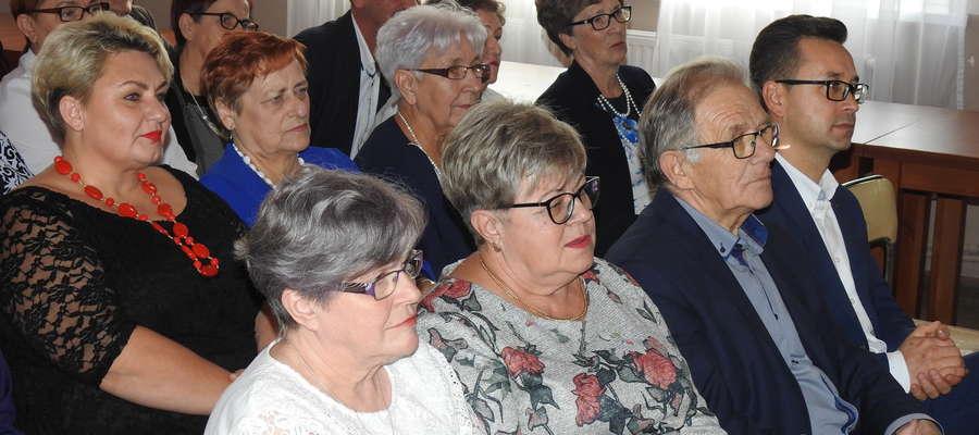 Goście Dnia Seniora w Mszanowie