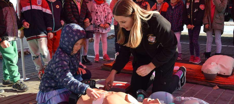 Mieszkańcy mogli też nauczyć się udzielania pierwszej pomocy