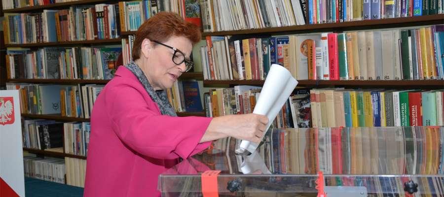 Spośród kandydatów z Olecka najlepszy wynik uzyskała Emilia Urbanowicz (PSL), ale mandatu poselskiego nie zdobyła