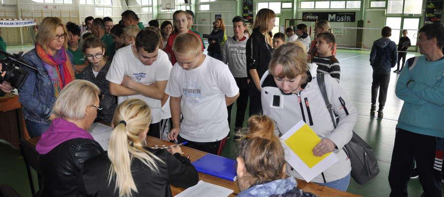 Rejestracja uczestników turnieju