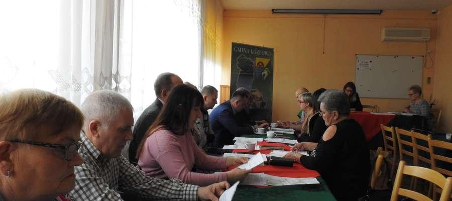 Sesja rady gminy Kozłowo