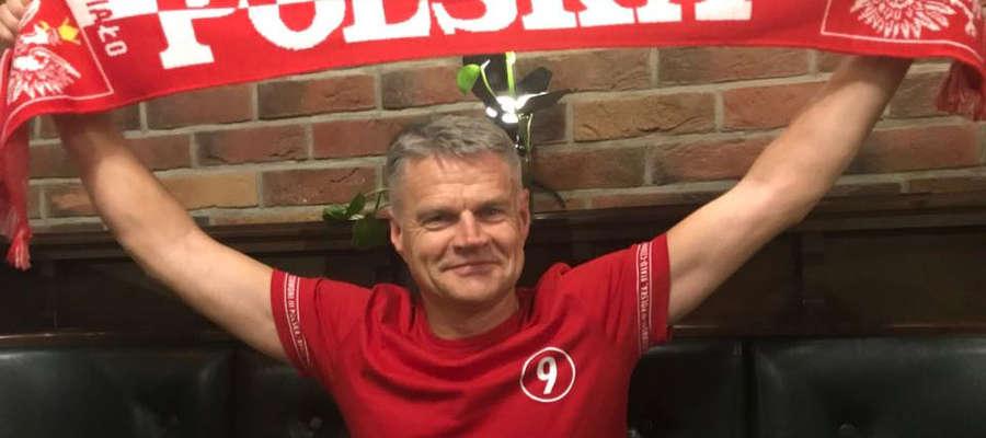 Marek Borkowski zawsze kibicuje polskim zawodnikom, jak na miłośnika sportu przystało