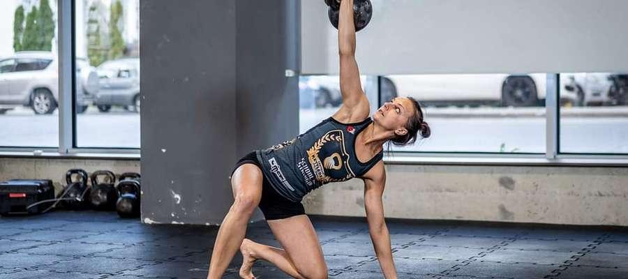 Na Mistrzostwach Polski Hardstyle Kettlebell 2019 mrągowianka zajęła czwarte miejsce