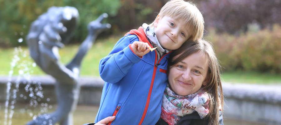 Anna Podolak (na zdjęciu z synem Jankiem): Chętnie wróciłabym do czasów, kiedy szkło było normą