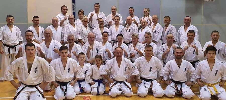 Kilkadziesiąt osób wzięło udział w seminarium z Shihanem Katsuhito Gorai