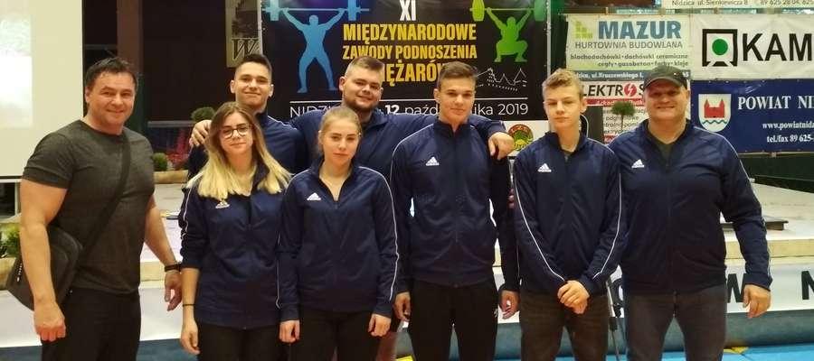 Kurzętniccy zawodnicy i trenerzy w Nidzicy