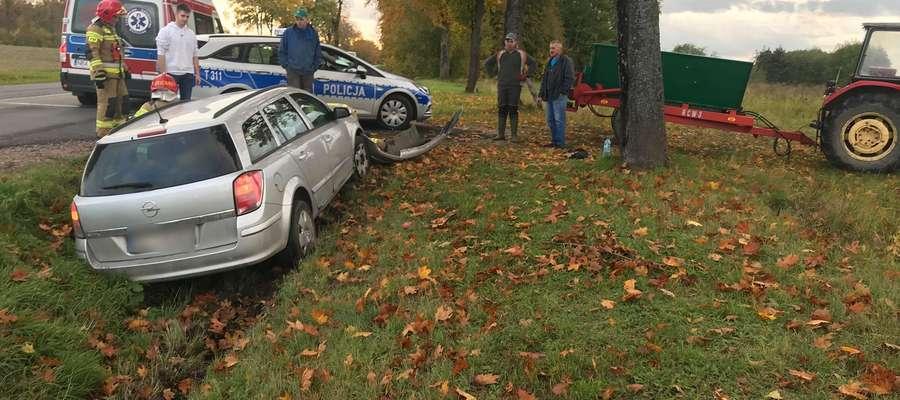 Wypadek w Osiece z 10 października 2019 r.