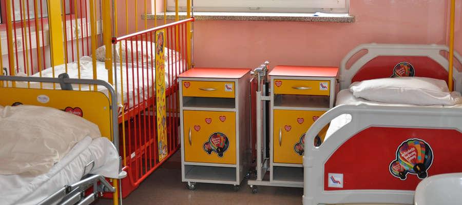 Co roku na oddziale diagnozowanych jest i leczonych około 800 dzieci.