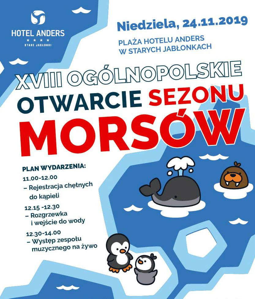 Rekordowe Otwarcie Sezonu Morsów w Starych Jabłonkach  - full image