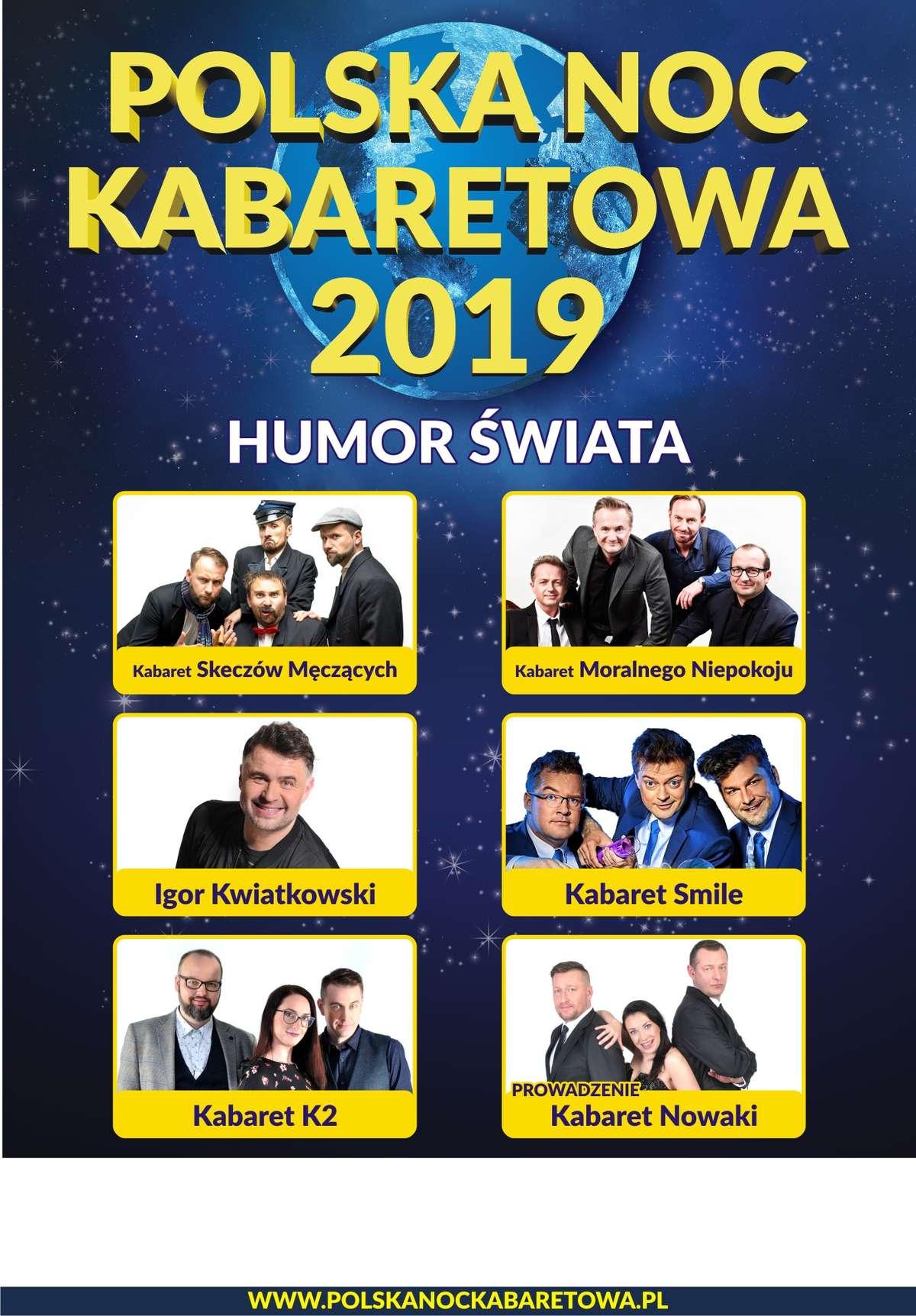 Polska Noc Kabaretowa 2019 - Humor świata - full image