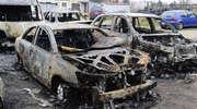 Pożar samochodów przy ul. Nowodworskiej - AKTUALIZACJA [ZDJĘCIA]