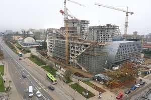 Tak rośnie Centaurus. Zobacz, jak wygląda budowa najwyższego budynku w Olsztynie [ZDJĘCIA]