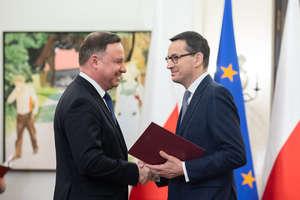 Prezydent powołuje nowy rząd. Mateusz Morawiecki desygnowany na premiera [SONDA]