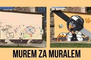 Walczymy o zachowanie muralu namalowanego na ścianie sklepu sportowego