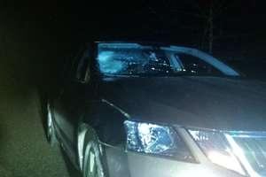 Potrącony pieszy trafił do szpitala w Działdowie