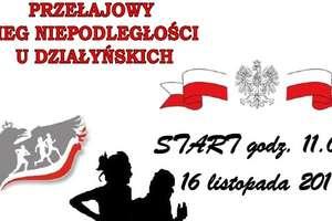 Będzie Bieg Niepodległości u Działyńskich