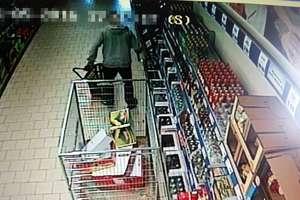 Poszukiwany za rozbój wpadł w Ostródzie na kradzieży alkoholu