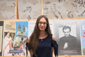 Sukces uczennicy Szkoły Podstwowej w Niechłoninie