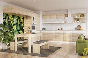Nowoczesna kuchnia w kolorze drewna? Bardzo dobre rozwiązanie!