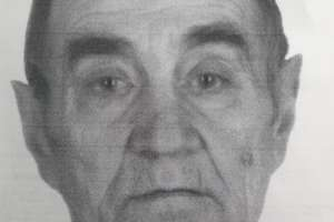 Zaginął 77-letni Bernard Wudziński mieszkaniec Brodnicy. Policjanci apelują o pomoc w poszukiwaniach mężczyzny