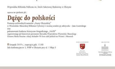 """Spotkanie """"Dążąc do polskości"""""""