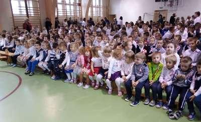 Prezydent Polski podziękował srokowskim maluszkom