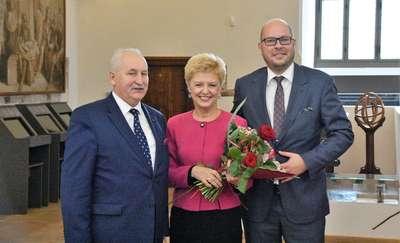 Dyrektor MOPS z nagrodą marszałka