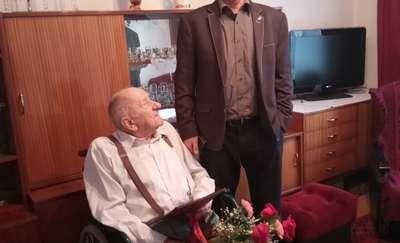 Życzenia z okazji 90 urodzin dla Pana Anatola Popka