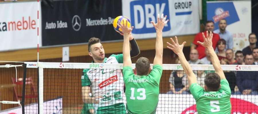 Jan Hadrava zdobył w meczu z GKS 20 punktów