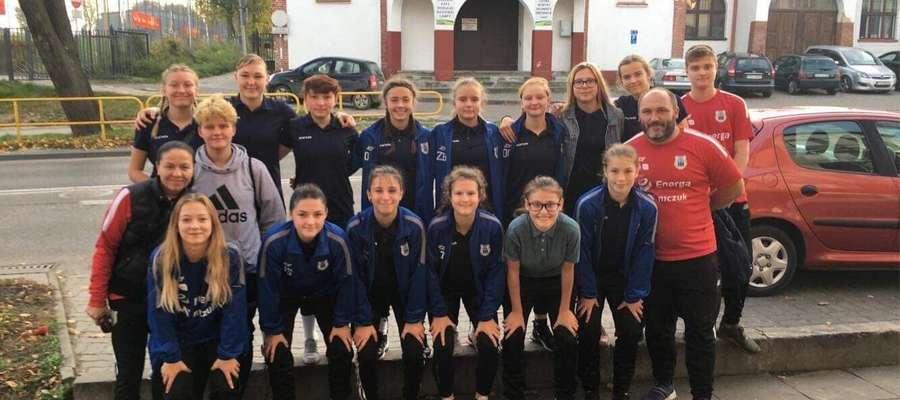 Piłkarki AS Stomil na dobre zadomowiły się w Centralnej Lidze Juniorek U-17