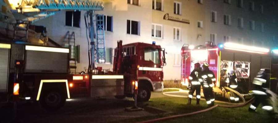 Pierwszy pożar w tym mieszkaniu wybuchł 27 listopada. Problemy mieszkańców trwają dalej...
