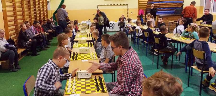 Podczas ubiegłorocznego turnieju w szkole w Brzoziu Lubawskim