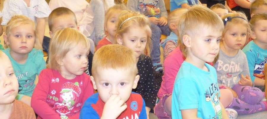 Zasłuchane przedszkolaki z Nowego Miasta Lubawskiego